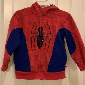 Spider-Man hoodie 2T